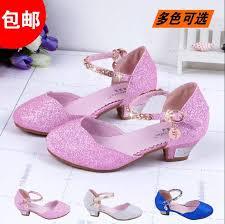 new 2015 children princess sandals girlsshoes high heels dress