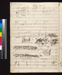 beethoven symphony no 5 op 67 in c minor full color facsimile