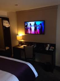 tv in bedroom picture of premier inn liverpool city centre
