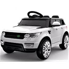 jeep white kids mini range rover hse sport white