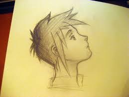 sketch anime boy no idea what the anime is from random go u2026 flickr