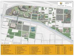 Map Of University Of New Orleans by Campus Map