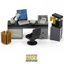 lego office lego office desk with computer keyboard letter coffee machine