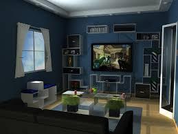 Blue Livingroom Interior Design Ideas Blue And Brown Living Room Colors I Chose