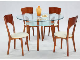 chintaly imports casey 5 piece casual solid maple table u0026 chair