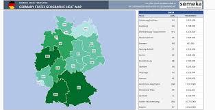 World Map Generator by Germany Heat Map Generator Dynamic U0026 Printable Excel Template