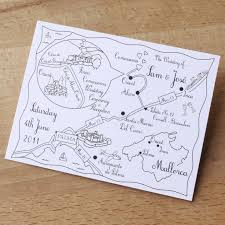Cute Wedding Programs The 25 Best Illustrated Map Wedding Programs Ideas On Pinterest