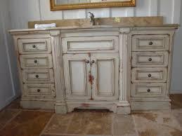Distressed Bathroom Vanities Distressed Wood Bathroom Vanity Home Design Ideas