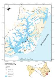 Amazon River On World Map by First Study On Communities Of Parasites In Triportheus Rotundatus