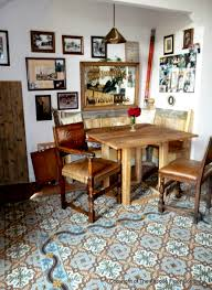 country charm in this irish cottage kitchen the antique floor