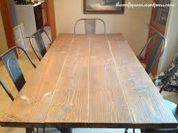 wax for wood table 14 made from scratch diy rustic dining table the craft queen