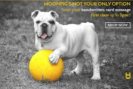 our handwritten card service u0026 why moonpig u0027s not your only option