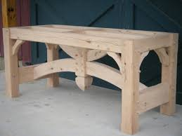 harvest table timber frame joinery pinterest woodworking