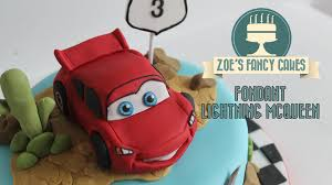 cars cake toppers a fondant lightning mcqueen from disneys cars how to