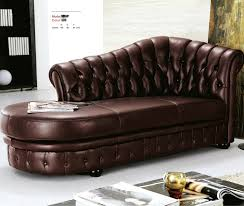 Sofa With Chaise Lounge And Recliner by Chaise Longue European Classical Pull Buckle Leather Recliner Sofa