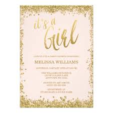 baby showers for girl baby girl shower invitations zazzle