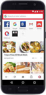 application cuisine android opera mini for android phone tablet opera