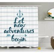Nautical Bathroom Curtains Nautical Shower Curtains