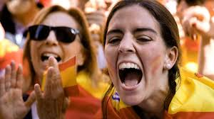 barcelona hunderttausende demonstrieren gegen abspaltung