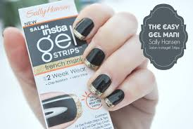 the easy gel mani sally hansen instagel strips giveaway a pop