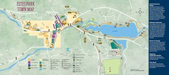 Worlds Of Fun Map by Estes Park Town Map Free Guestguide Publications