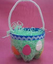 easter egg baskets to make easter basket craft from recycled soda bottle