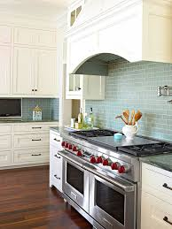 tile backsplash ideas for behind the range blue subway tile