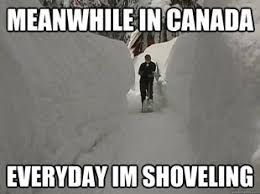 Canada Snow Meme - everyday i m shoveling fun pinterest canada memes canada