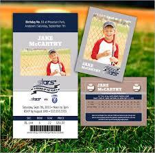 birthday card template baseball