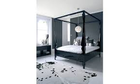 Black Poster Bed Louis Four Poster Bed Bedroom Products Reeves Design