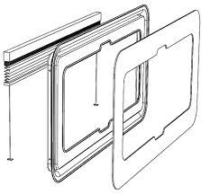 ivory vw t5 window blinds window pod system vanshades