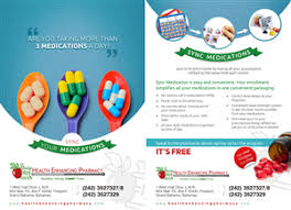 pharmacy brochure template free leaflet design search graphic design