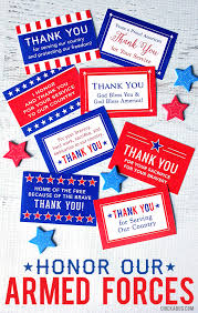 gifts to give the from the of honor free printable honor our armed forces cards free printable