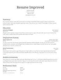 libreoffice resume template resume resume template libreoffice
