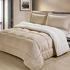 Comforter Sets Images Sherpa Down Alternative Comforter Set Bed Bath U0026 Beyond