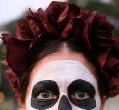 day of the dead headband diy easy crown for dia de los muertos