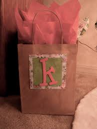 i made personalized gift bags for my christmas gifts brown