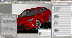 toyota model names toyota prius 2016 3d cgtrader