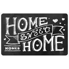 sweet home gift card