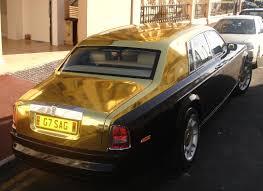gold rolls royce phantom automobile for life