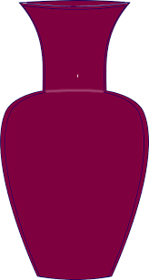 Tall Purple Vase Free Vector Graphic Vase Round Bodied Tall Free Image On