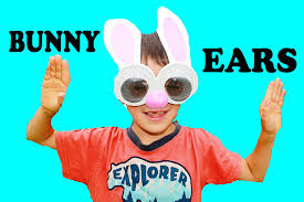 diy easter bunny ears family fun kids craft easter egg hunt basket