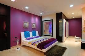 couleur de chambre violet design interieur couleur chambre murs violet literie assortie