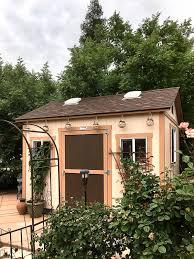 tuff shed a beautiful backyard retreat