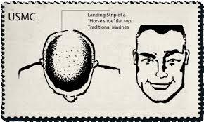 horseshoe haircut flattop usmc horseshoe flattop reference card