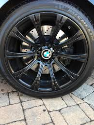 porsche oem wheels my oem wheels get painted gloss black bmw m5 forum and m6 forums