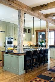 kitchen island columns kitchen island columns support beams as decorative columns kitchen