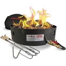 Costco Propane Fire Pit Camp Chef Campfire Pit Portable Propane Gc Log Walmart Com