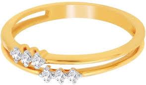 damas wedding rings d damas 18kt diamond yellow gold ring price in india buy d damas