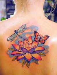 lotus flower for tattoos ideas